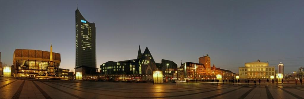 Leipzig - Citypanorama