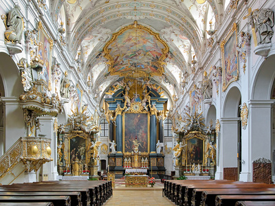 St. Emmeram's Basilica in Regensburg