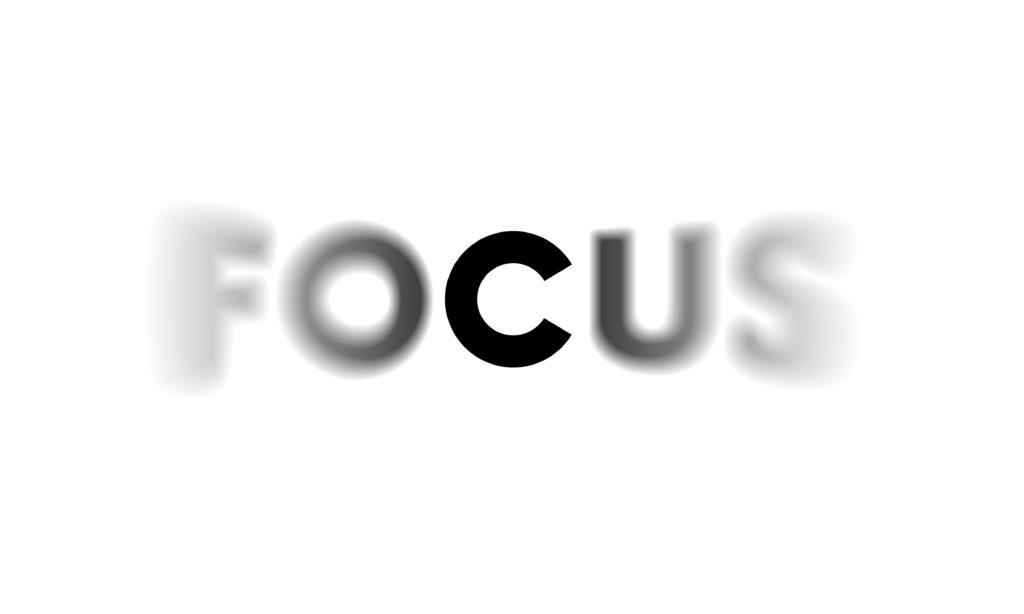 Fokus hilft Faulheit zu überwinden