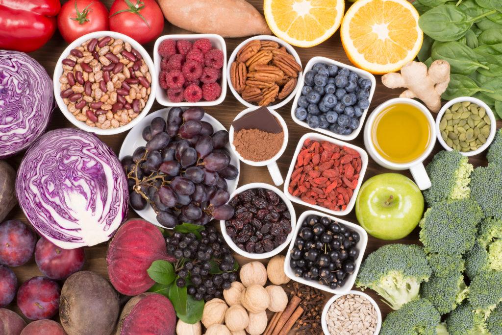 gesunde Ernährung für Hautpflege