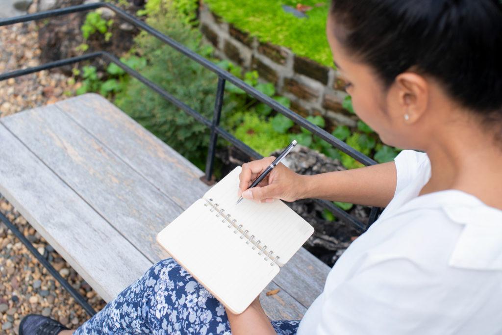 Täglich schriftlich Journaling