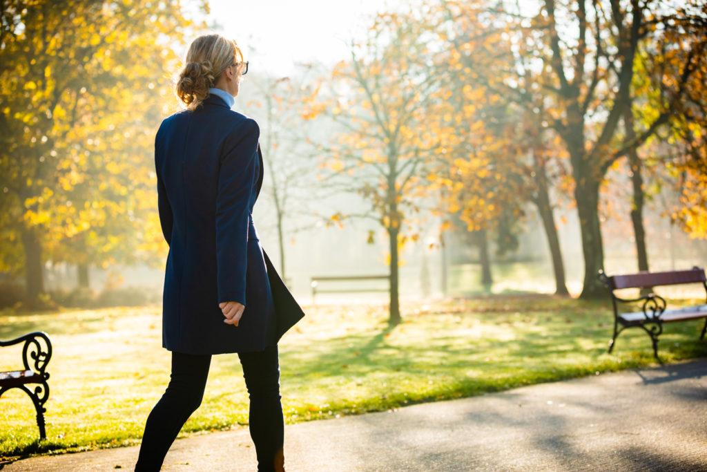 Spaziergang vertreibt schlechte Laune