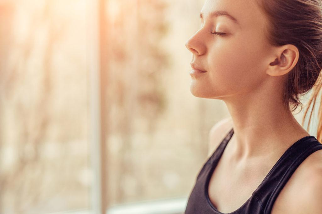Atmung gegen Stress