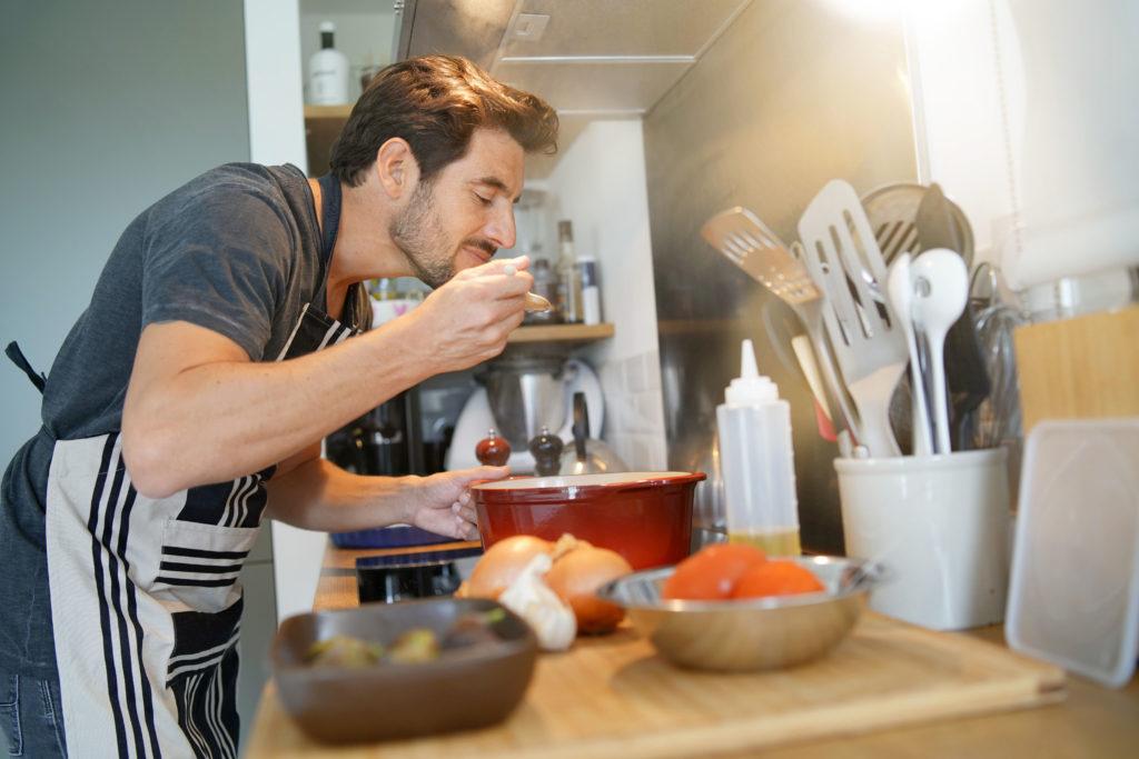 Kochen gegen Langeweile