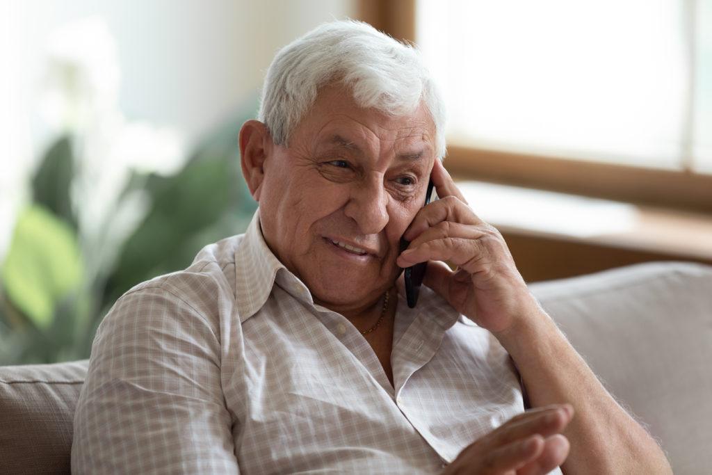 Telefonieren gegen Einsamkeit