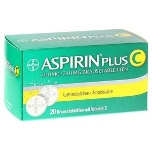 Aspirin für Reiseapotheke