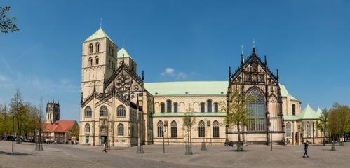 St. Paulusdom Panorama, Münster in Nordrhein-Westfalen