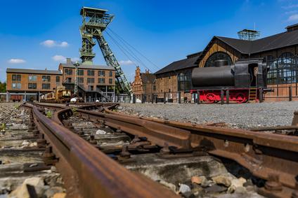 Industriedenkmal Zeche Zollern in Dortmund, Deutschland