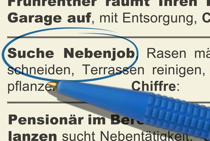 Announce: suche Nebenjob