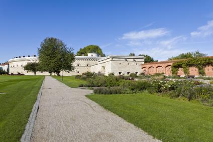 Der Klenzepark in Ingolstadt