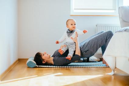 Mutter und Kind - Pilates
