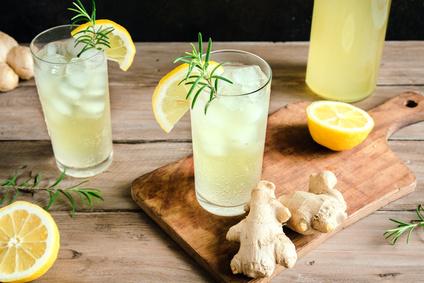 Ginger Ale oder Kombucha