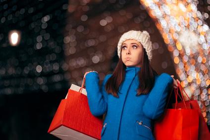Weihnachten Shoppen