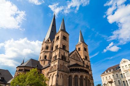 Das Münster St. Martin in Bonn