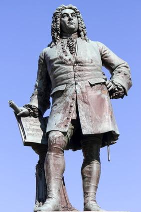 Georg Friedrich Händel Denkmal in Halle