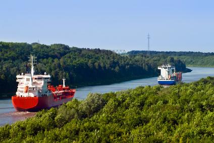 Nord - Ostsee - Kanal bei Kiel