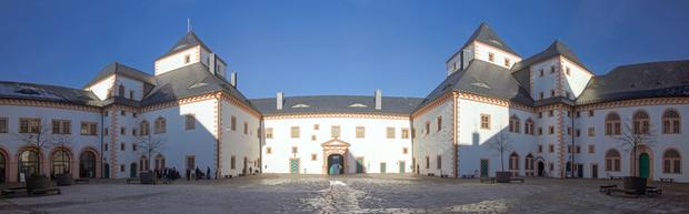 Schloss Augustusburg, Panorama, Chemnitz