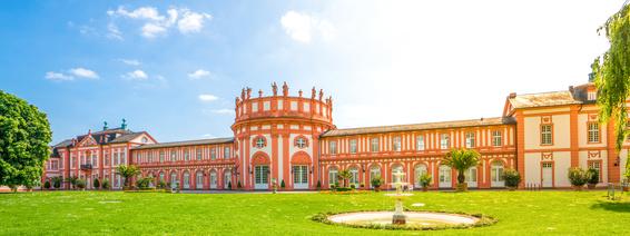 Wiesbaden, Schloss Biebrich Panorama