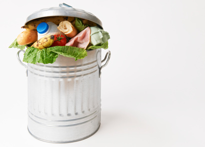 Lebensmittel verschwenden