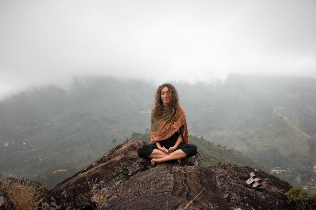 Mental stark durch Meditieren